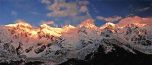 Kanchenjunga Mountains